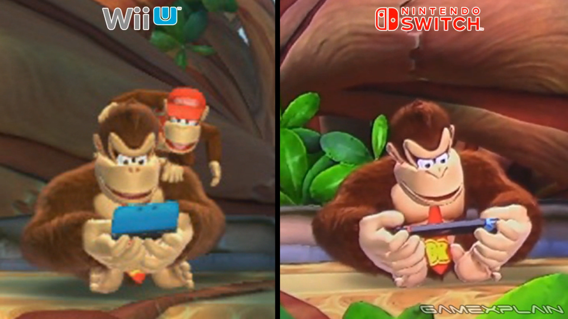 Donkey Kong S Character Model Was Updated For The Switch Version