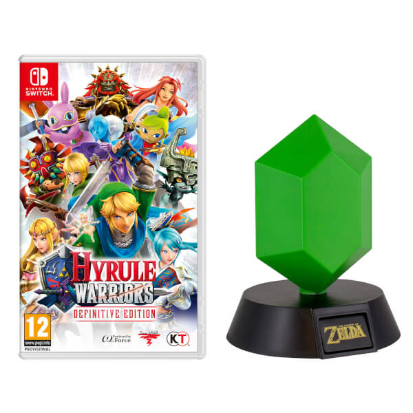 Nintendo Uk Store Hyrule Warriors Definitive Edition Green Rupee Light Available To Pre Order My Nintendo News