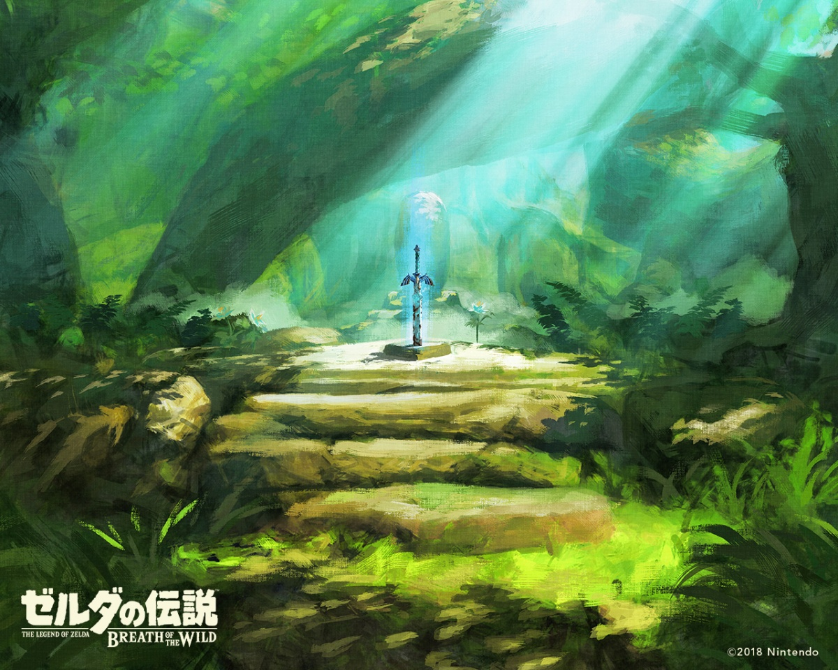 Breath Of The Wild Backgrounds: Nintendo Releases Special Birthday Wallpaper Featuring The
