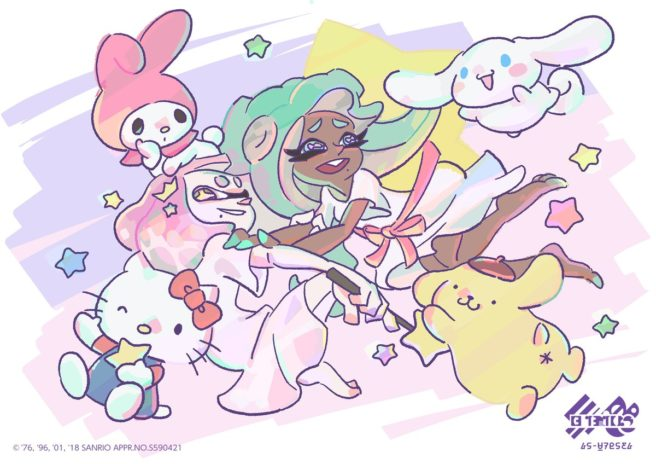 splatoon_2_sanrio_art