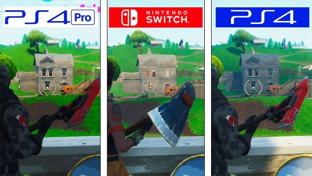 video fortnite graphics comparison between nintendo switch and playstation 4 my nintendo news - ps4 vs pc fortnite