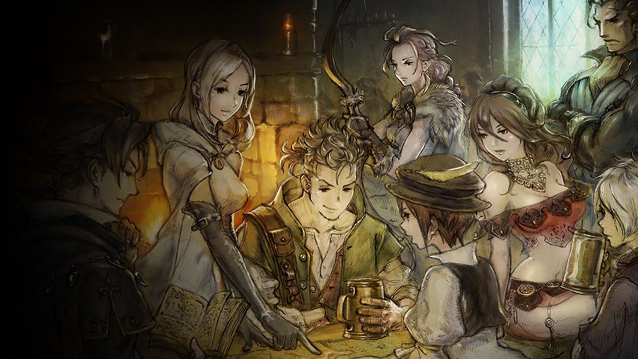 Octopath Traveler is making a pit stop on mobile