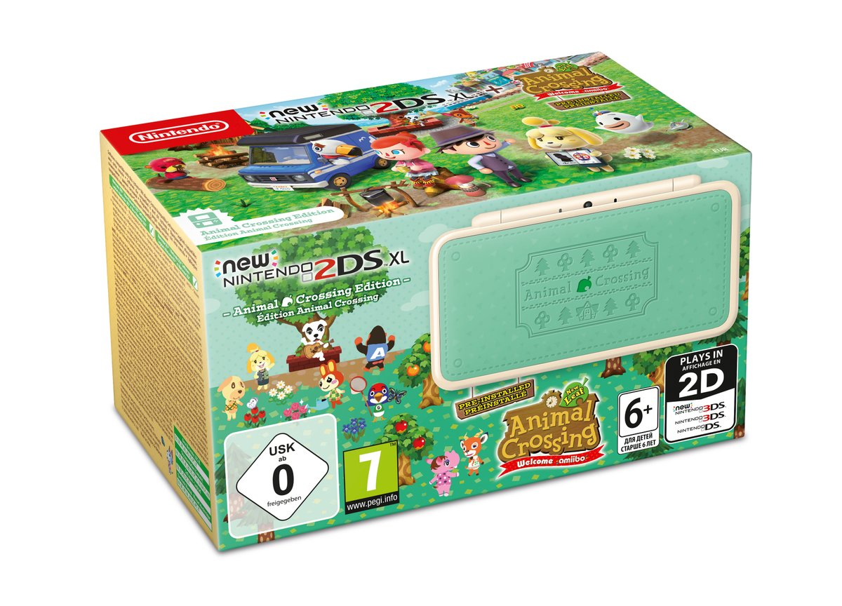Nintendo unveils a 'Minecraft' Creeper 2DS XL special edition