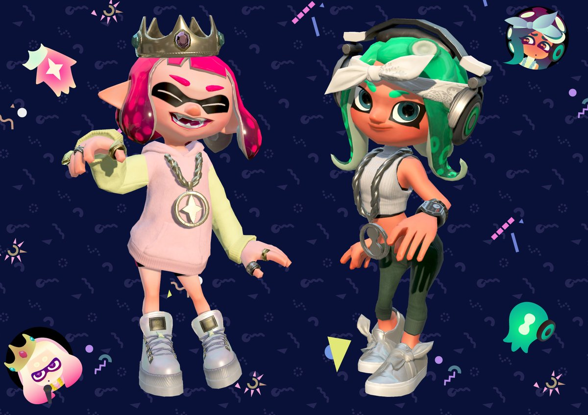 Here S The Special Gear You Get With Splatoon 2 Pearl Marina Amiibo My Nintendo News