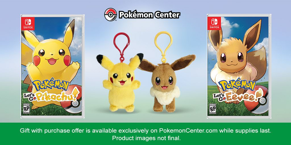 Us Pre Order Pokemon Let S Go From Pokemon Centre And border=