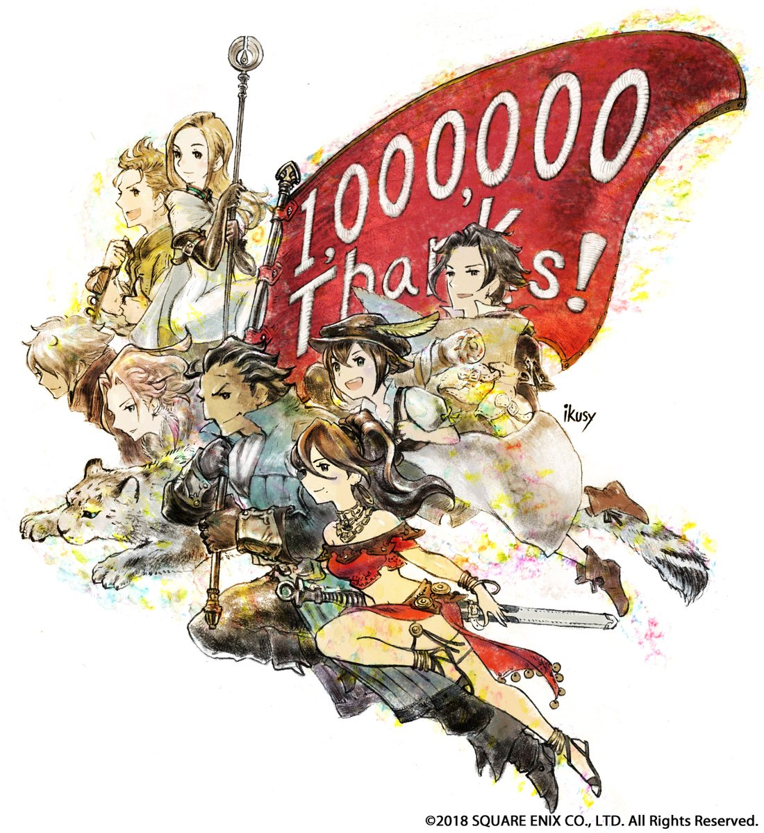 Octopath Traveller Has Sold Over A Million Copies Worldwide In Three Weeks