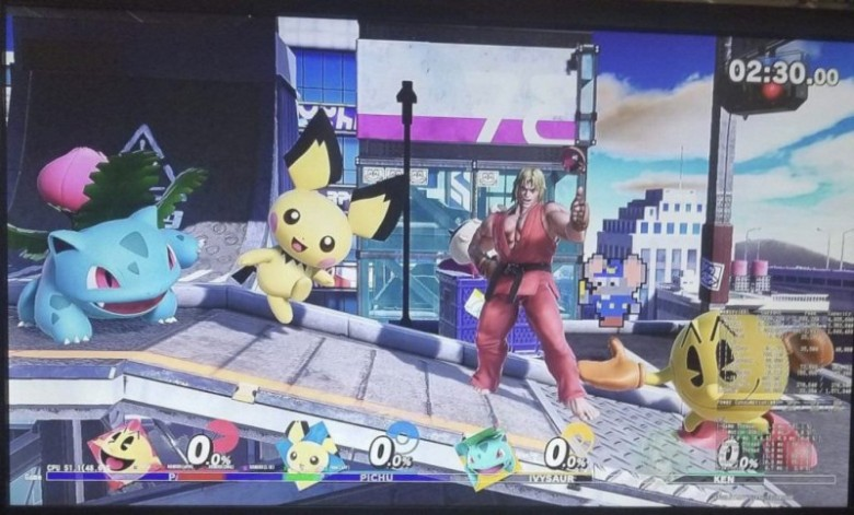 Rumour: A Super Smash Bros Ultimate Screenshot Doing The Rounds