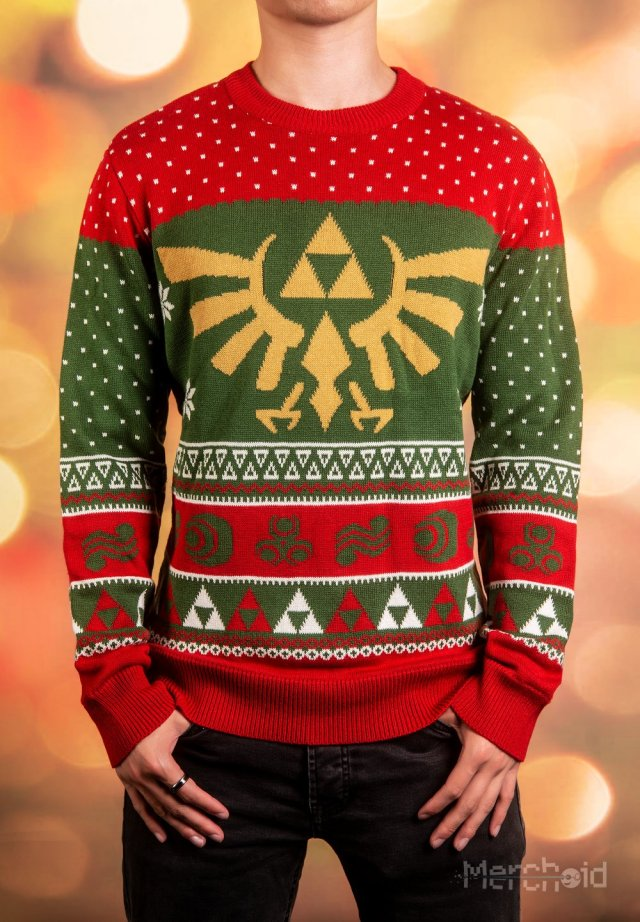 Merchoid Reveals Official Nintendo Christmas Sweaters Based On Zelda ...