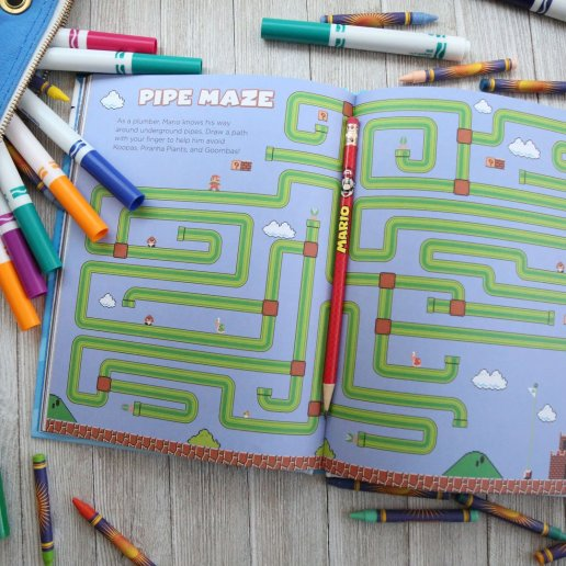 random_house_super_mario_pipe_maze_childrens_book