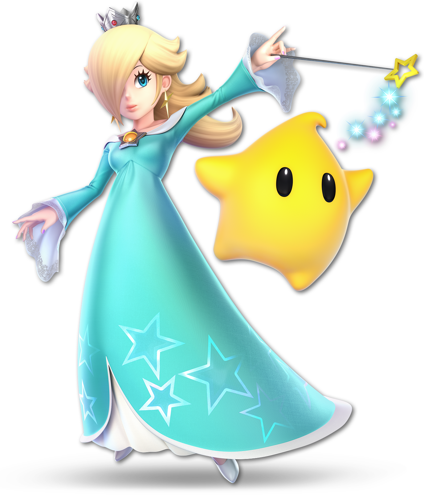 Rosalina Appears In The Art Of Super Mario Odyssey Book My