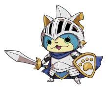 yo_kai_watch_blasters_white_dog_squad_sir_Nyansalot