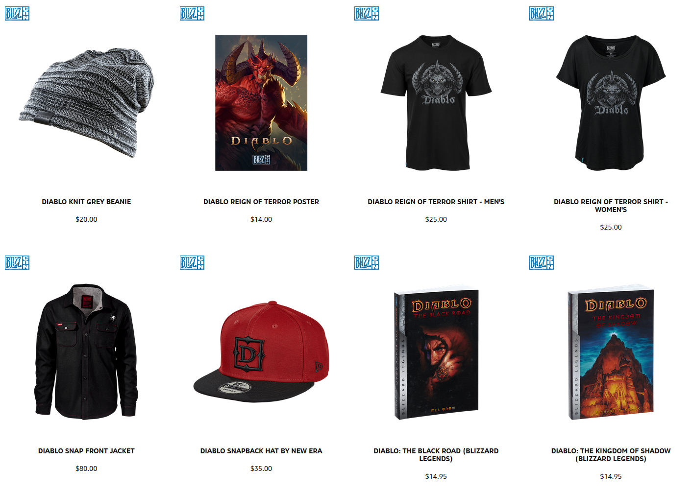 BlizzCon Merch Store May Have Leaked New Diablo Title