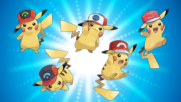 Get Pikachu Wearing Ash's Hats With These Codes For Pokemon