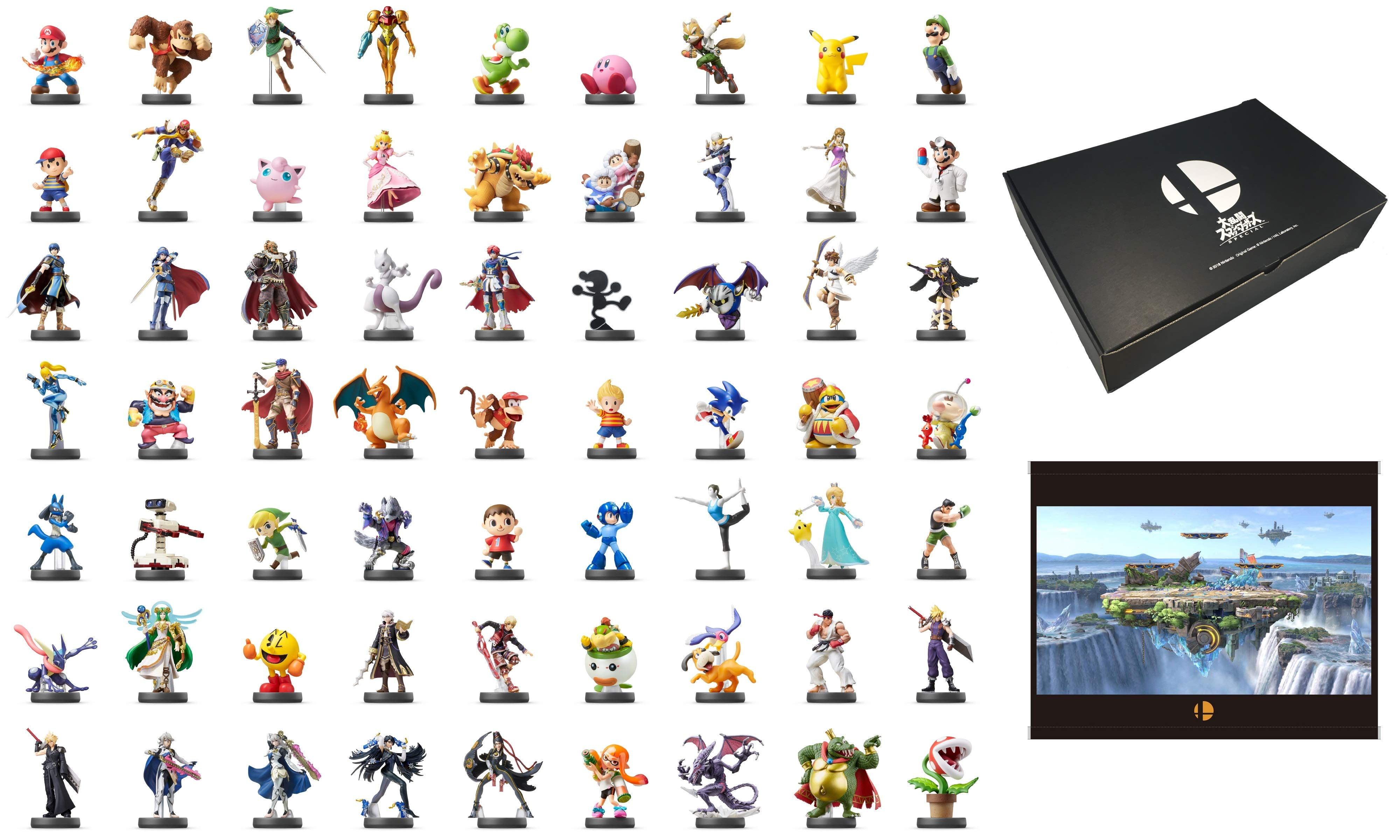 Amazon Japan Is Selling A Box With 63 Amiibo In It