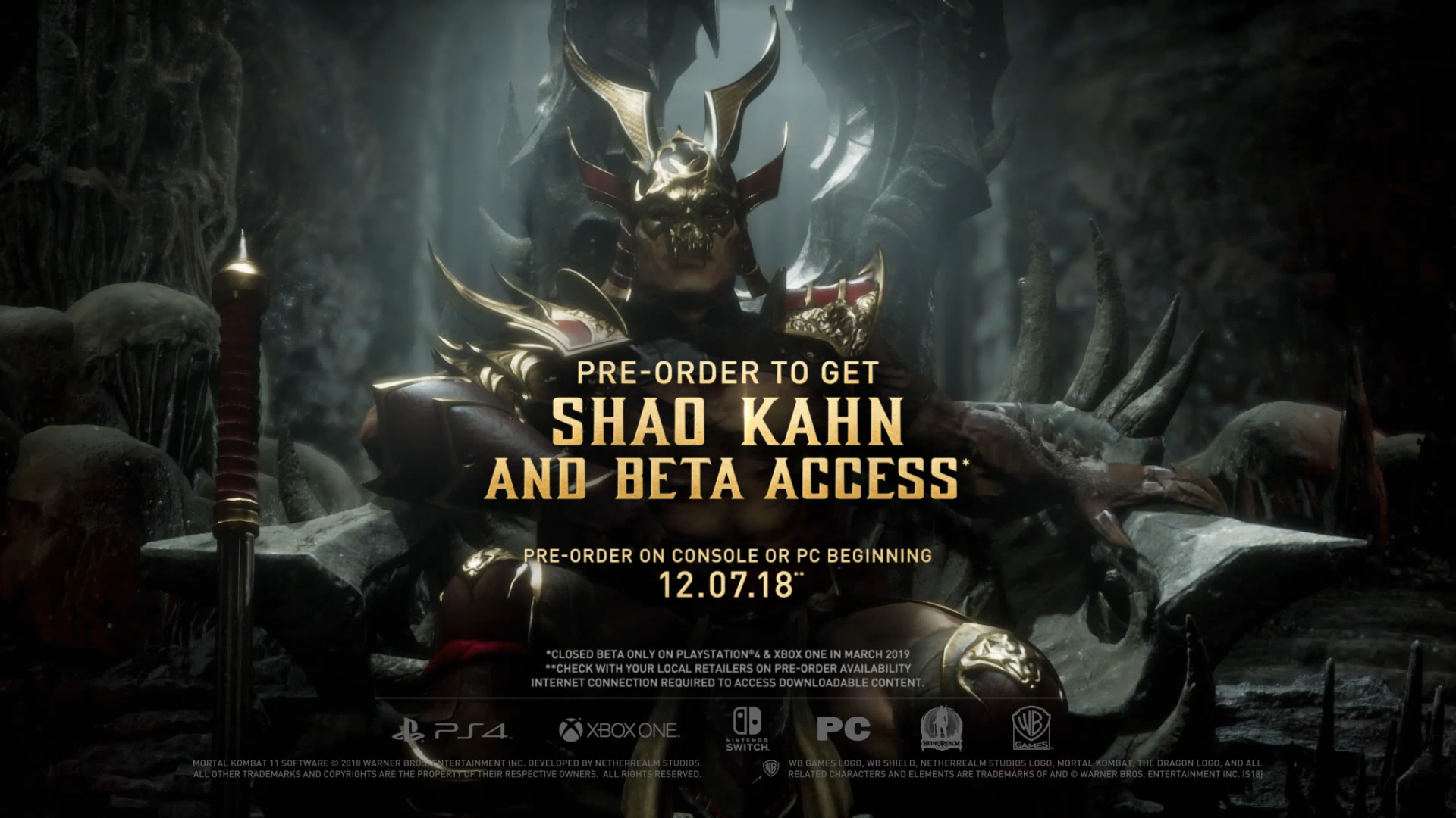 Mortal Kombat 11 Is Coming To Multiple Platforms, Including