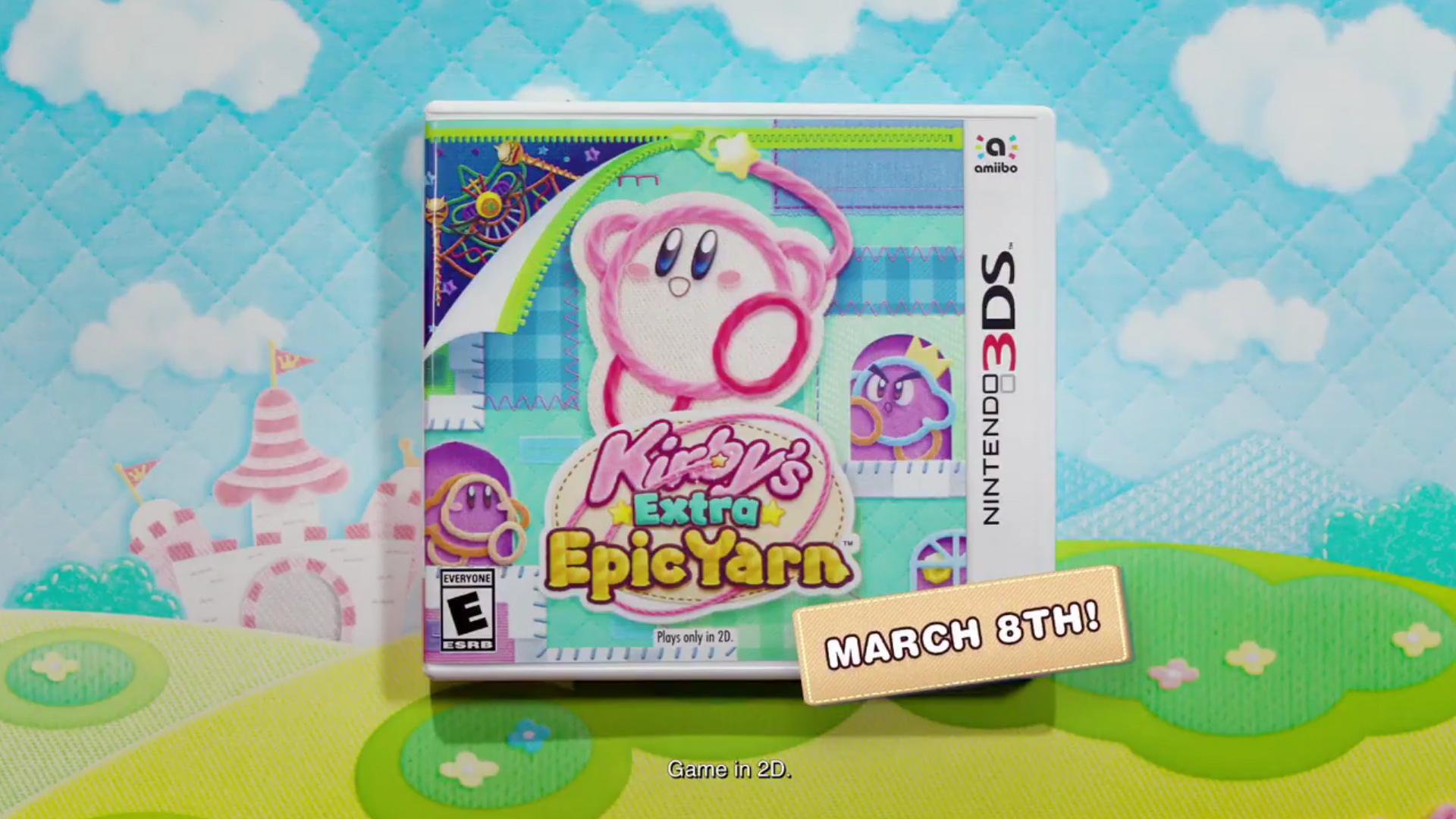 'Kirby' and 'Yoshi' Get Release Dates in March