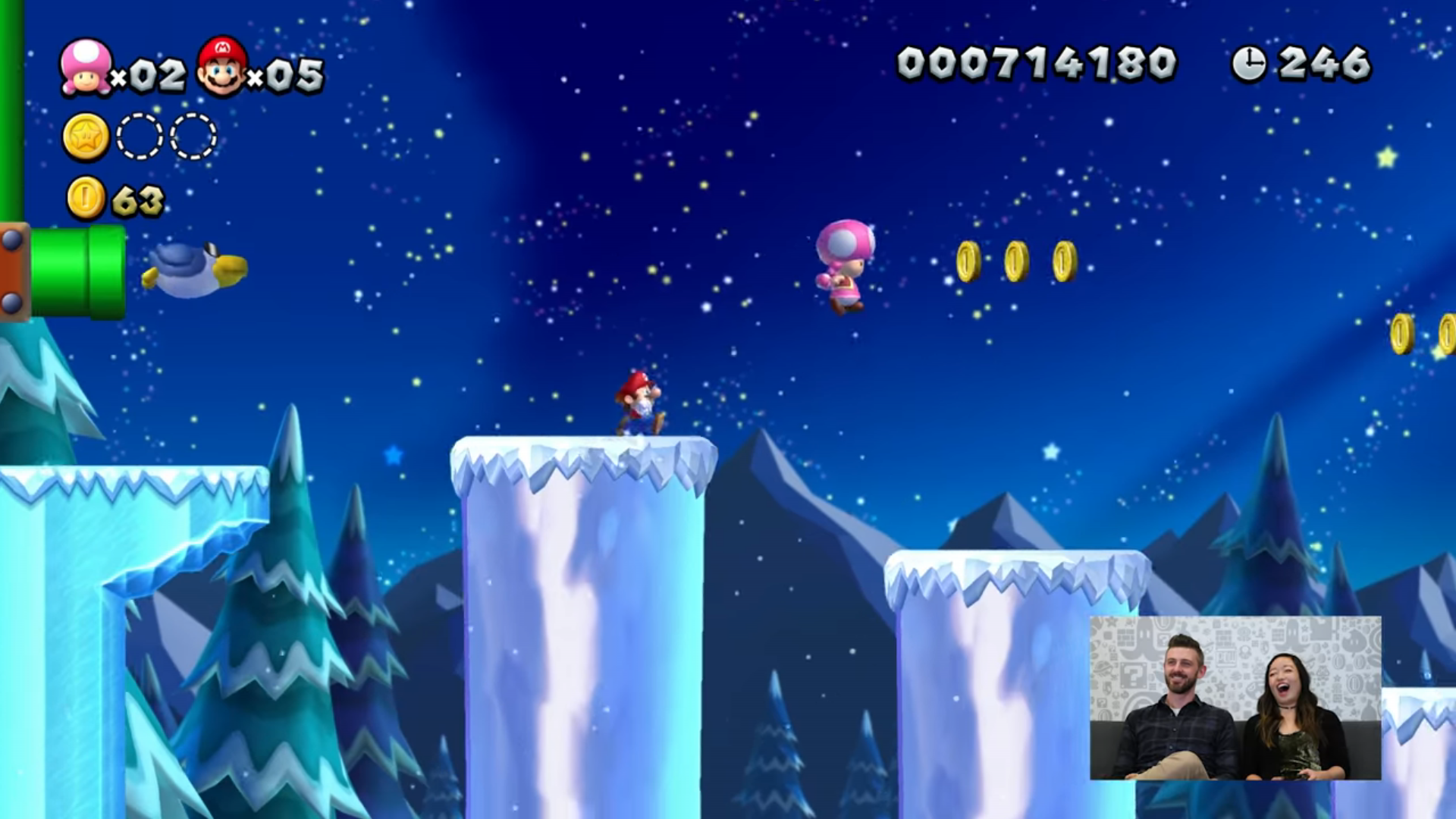 Video Nintendo Minute New Super Mario Bros U Deluxe Co Op