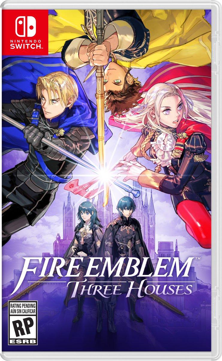 Nintendo Reveals The North American Box Art For Fire Emblem