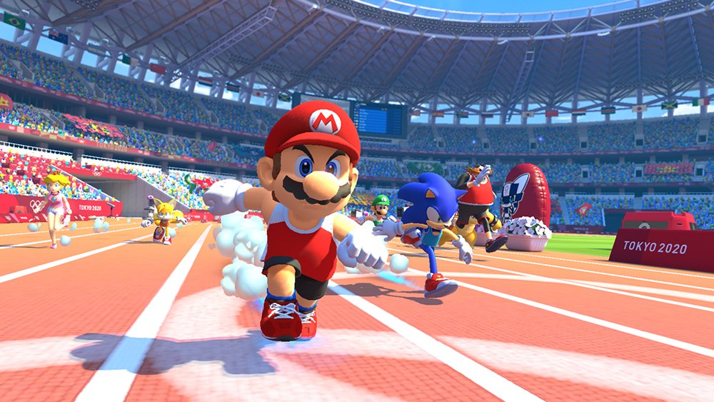 Tokyo 2020 Olympics will receive four video games from Sega