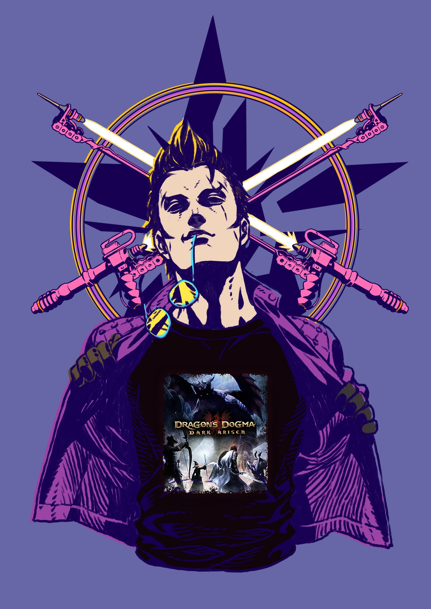Dragon S Dogma Dark Arisen X Travis Strikes Again No More Heroes