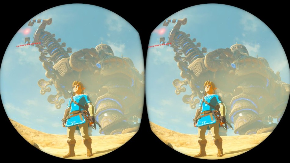 Here's How Zelda: Breath of the Wild Works in VR