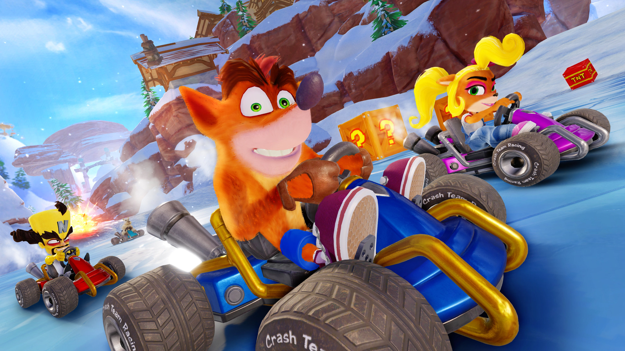 Previews Crash Team Racing Nitro-Fueled Preview