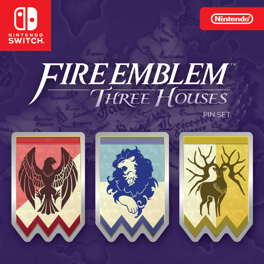 Three Houses promo gift for Fire Emblem Heroes