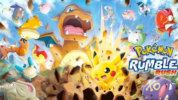 Pokemon Rumble Rush announced for Android and iOS
