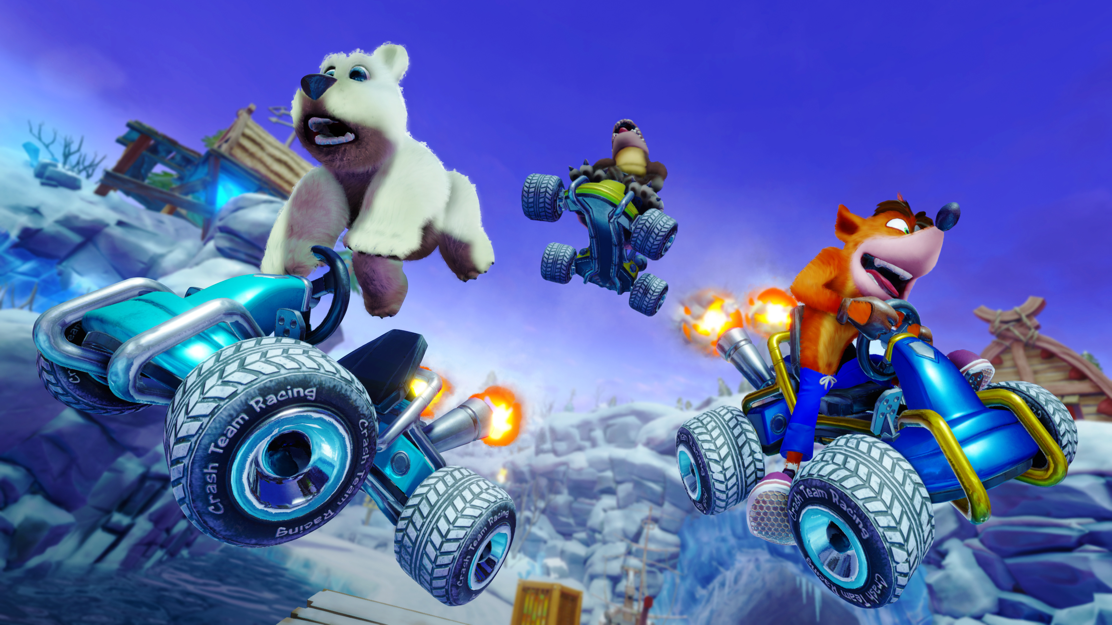 Crash Team Racing: Nintendo Switch Version Is 720p Docked And 480p