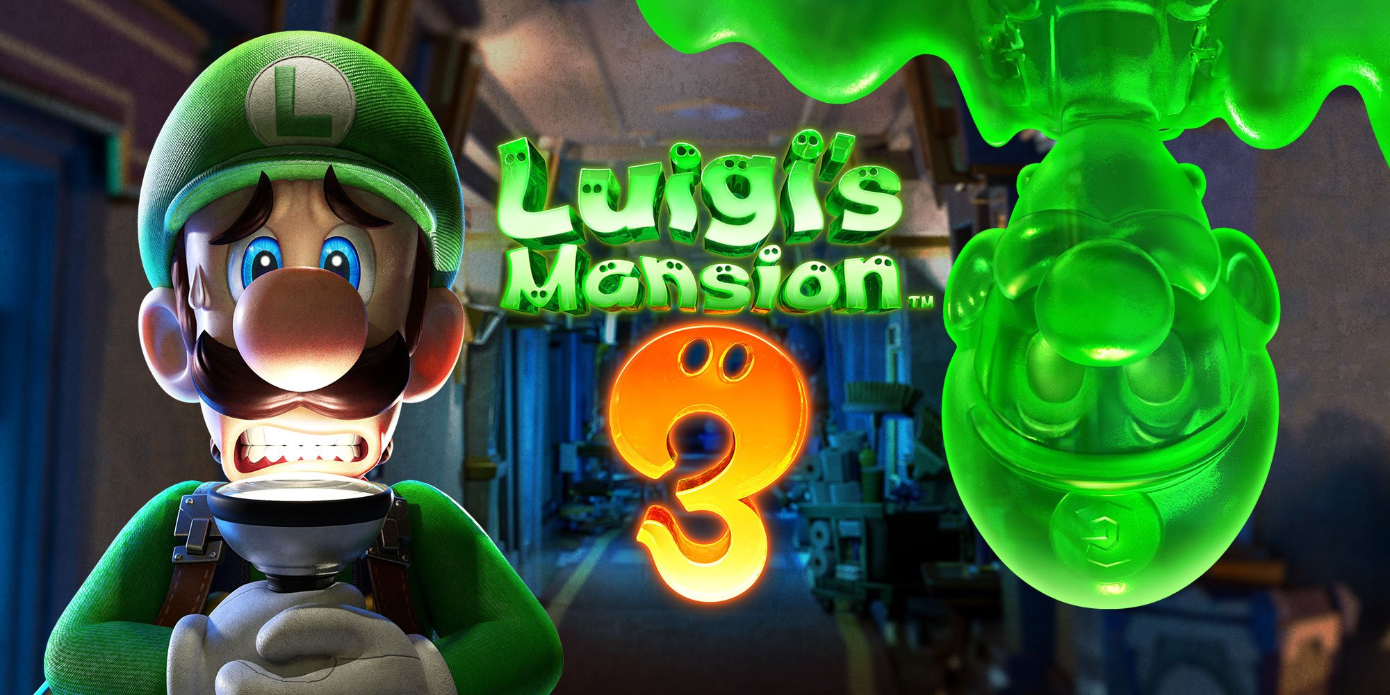 'Luigi's Mansion 3' stars a jelly doppelganger named Gooigi