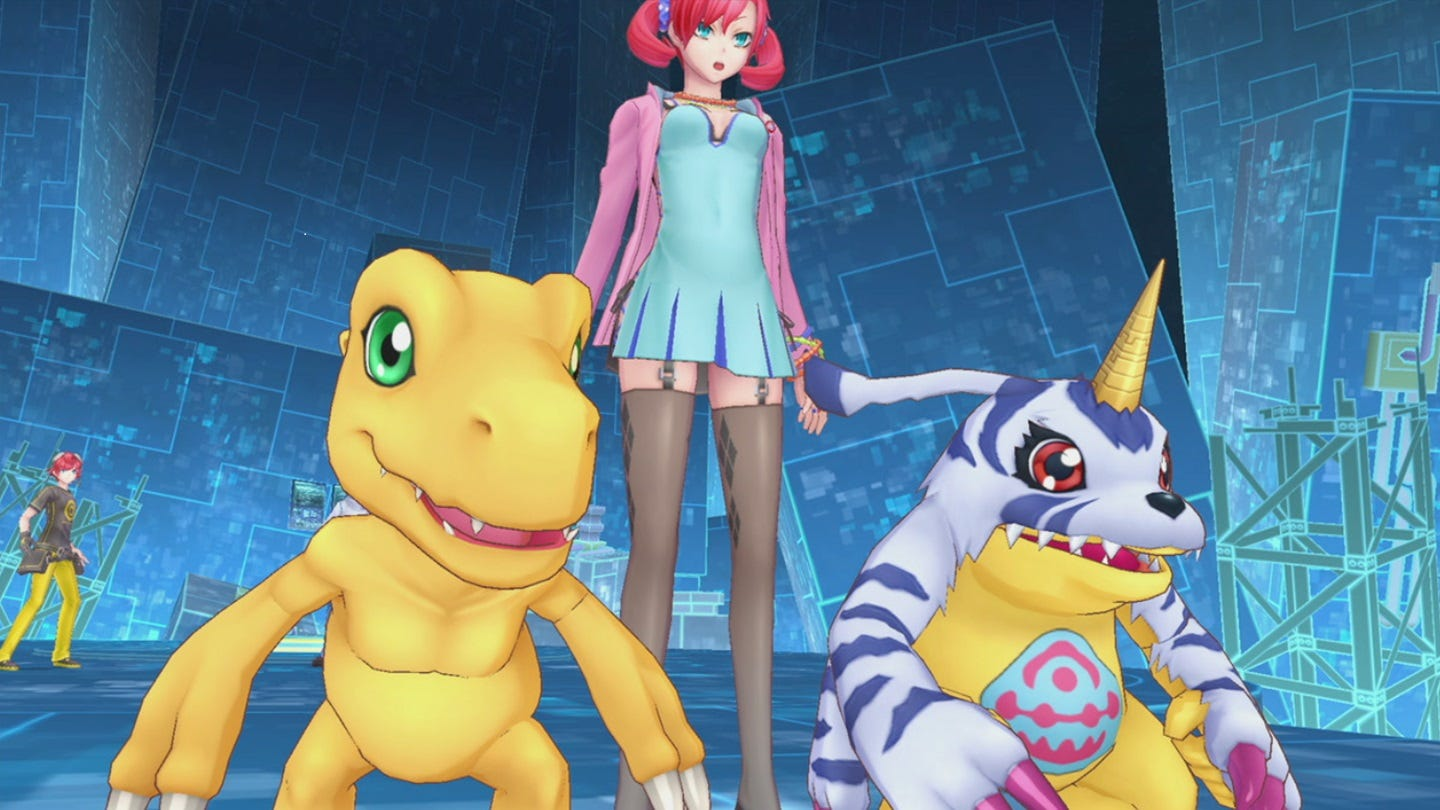 Digimon Story Cyber Sleuth: Complete Edition heads to PC later this year
