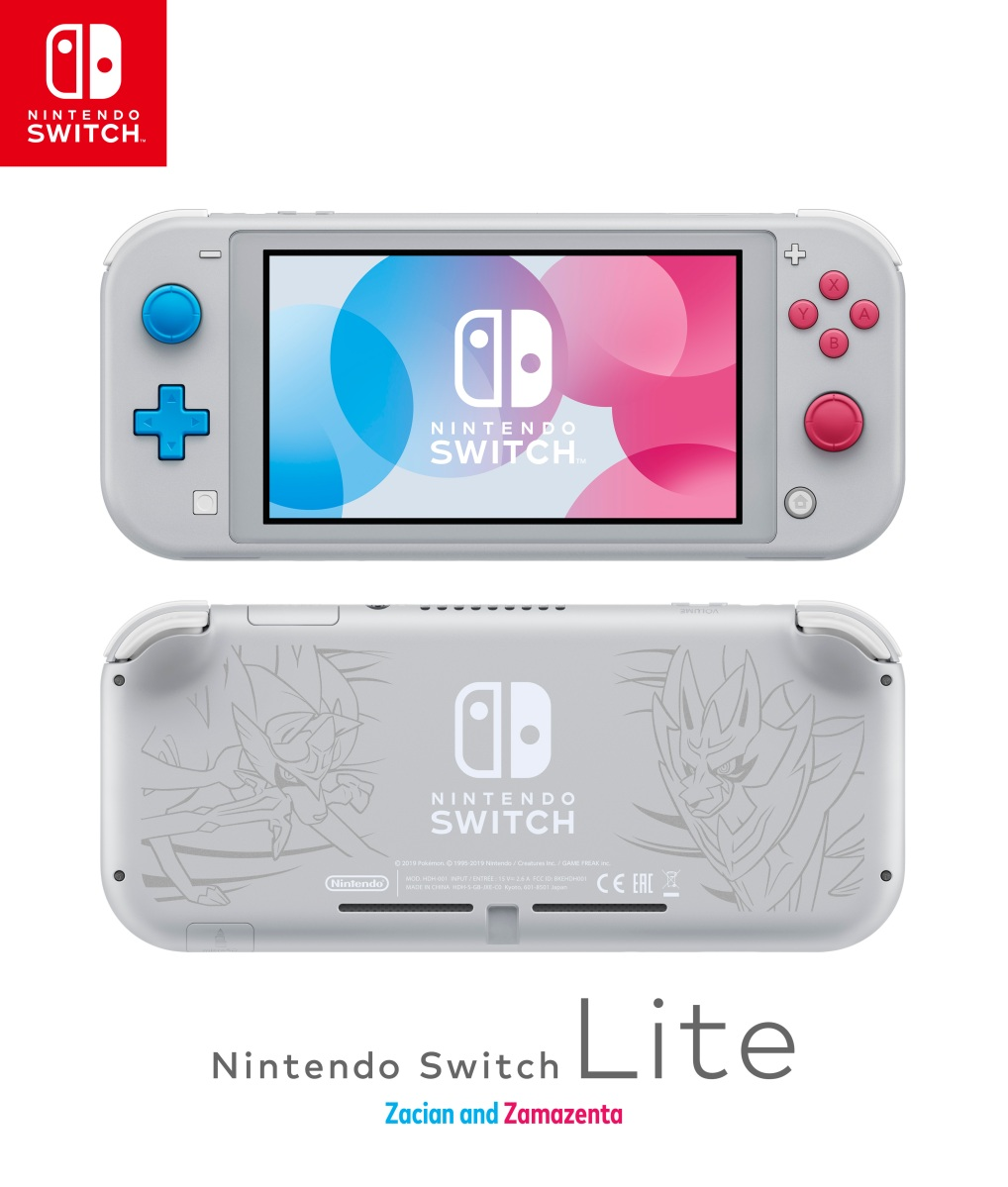 Pokemon Edition Of Newly Announced Nintendo Switch Lite