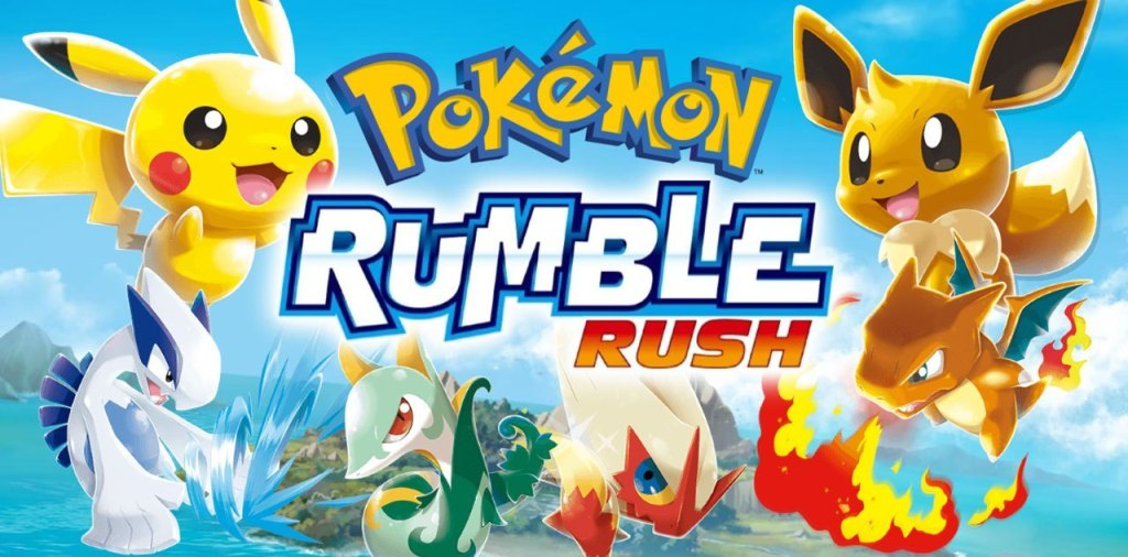 Pokemon Rumble Rush available for download on the App Store