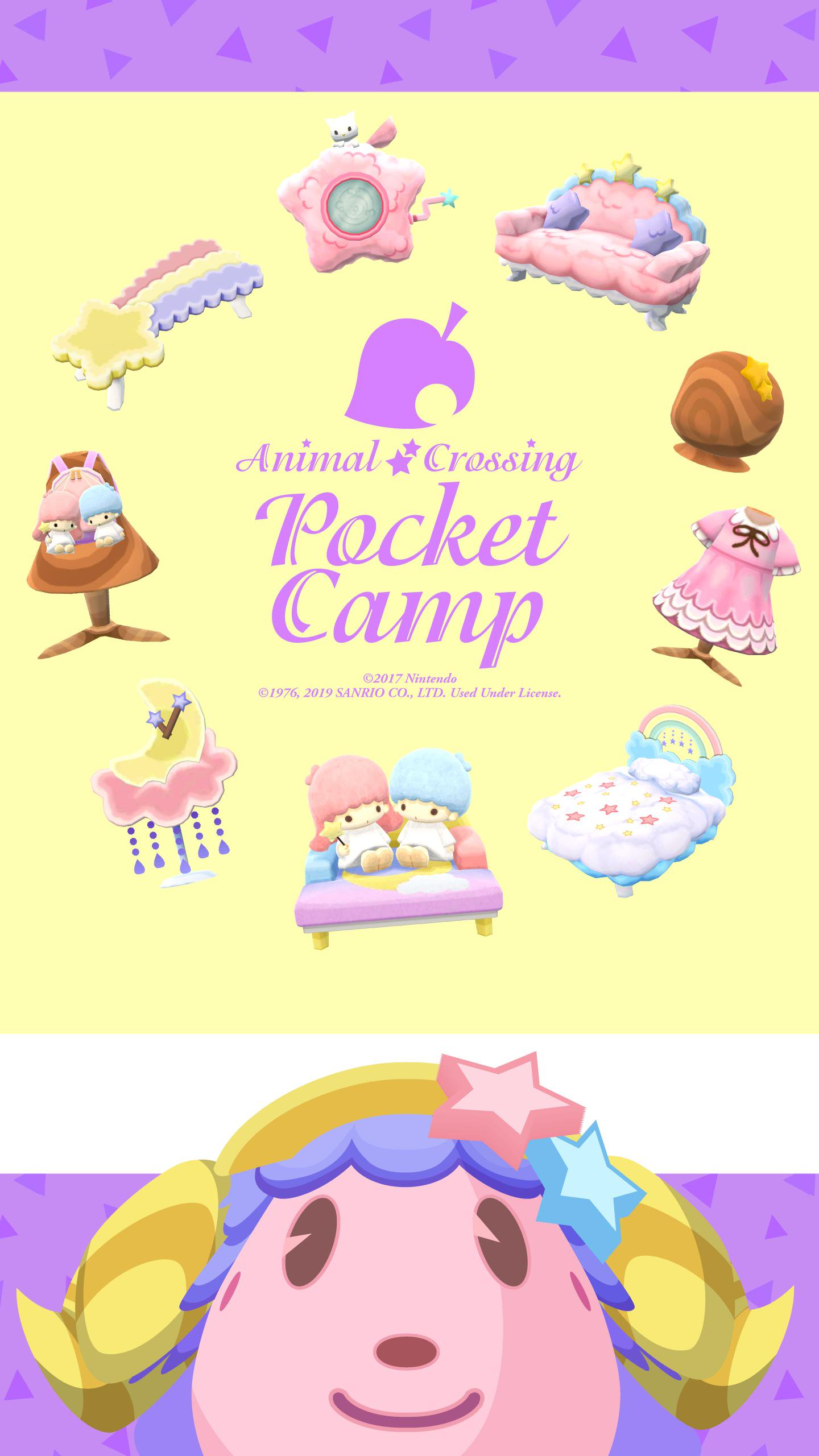 Nintendo Creates Four Sanrio Wallpapers From Animal Crossing