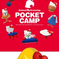 Nintendo creates four Sanrio wallpapers from Animal Crossing: Pocket Camp