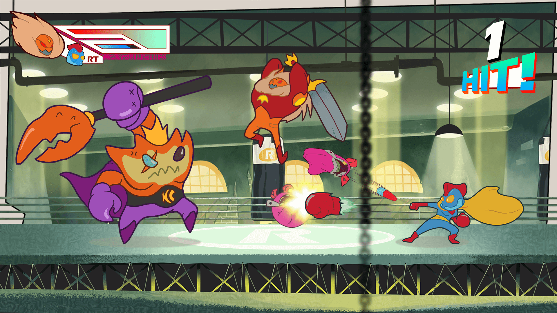 Sumo Digital 2d Beat Em Up Pass The Punch Coming To Nintendo