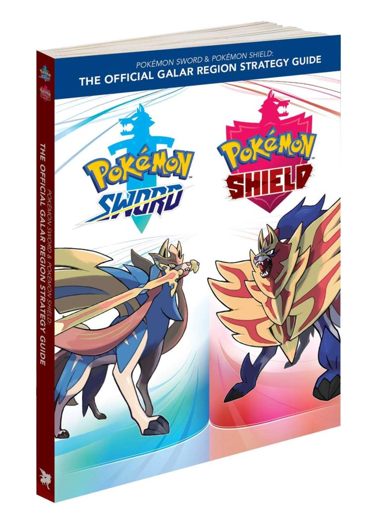 Pokemon Sword & Shield getting physical strategy guide | My