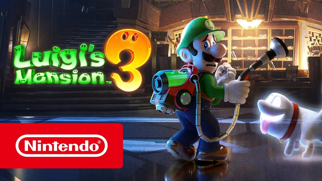 Κέρδισε βραβείο BAFTA το Luigi's Mansion 3