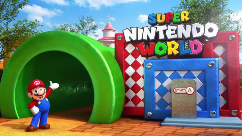 Έτοιμο το 2023 το Super Nintendo World στο Epic Universe