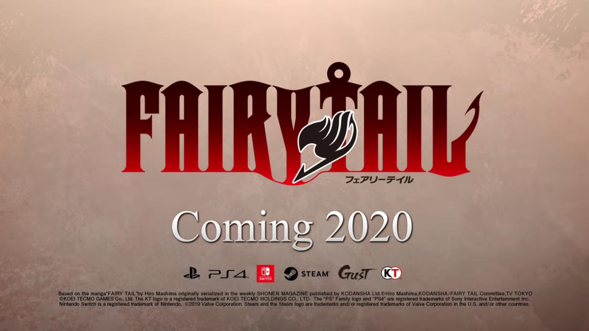 Paris Games Week 2020.Video Fairy Tail Paris Games Week 2019 Trailer My