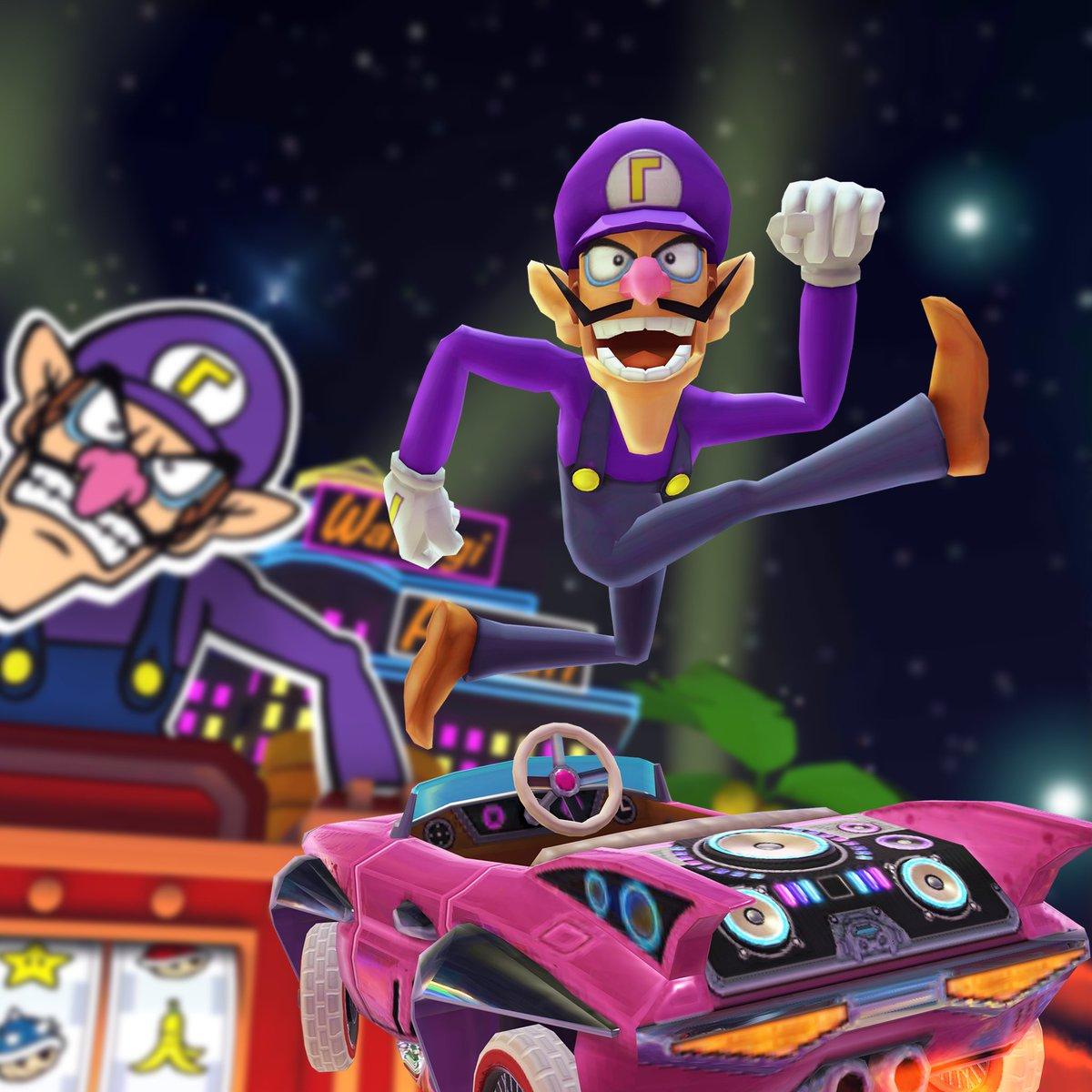 Waluigi Heading To Mario Kart Tour In The Next Tour Gaming