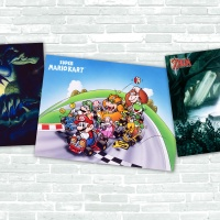 Europe: High-quality Super NES poster set on My Nintendo for 300 Platinum Points