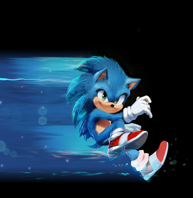 Risultati immagini per sonic film speed me up
