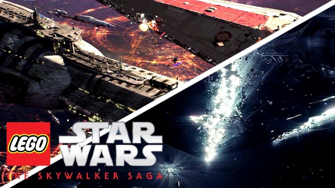 Lego Star Wars The Skywalker Saga Trailer My Nintendo News