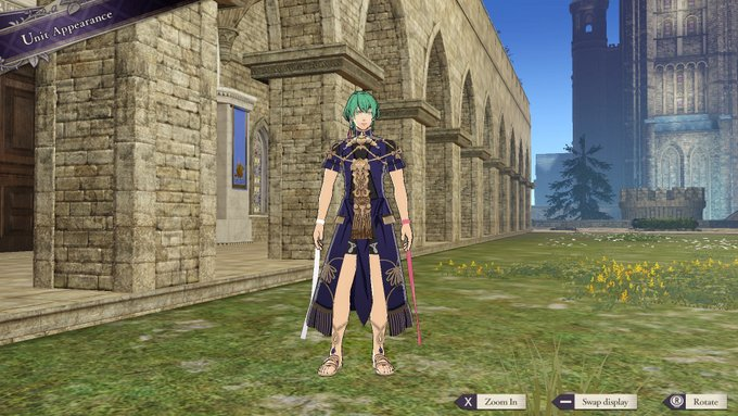 The Sothis Regalia Costume Is Now Available For Fire Emblem
