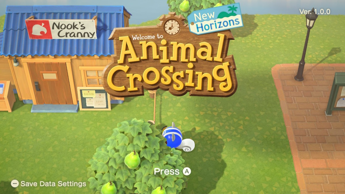 Animal Crossing New Horizons Now Available For Nintendo Switch My Nintendo News
