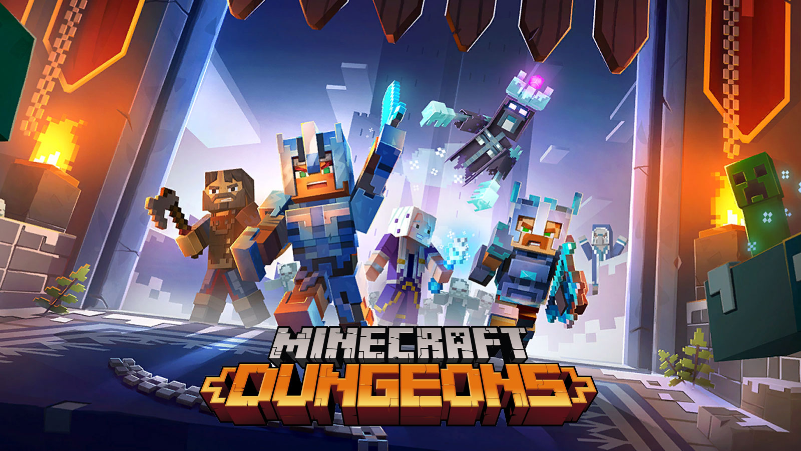 Minecraft Dungeons has been updated to version 1110.1110.110.110 – My