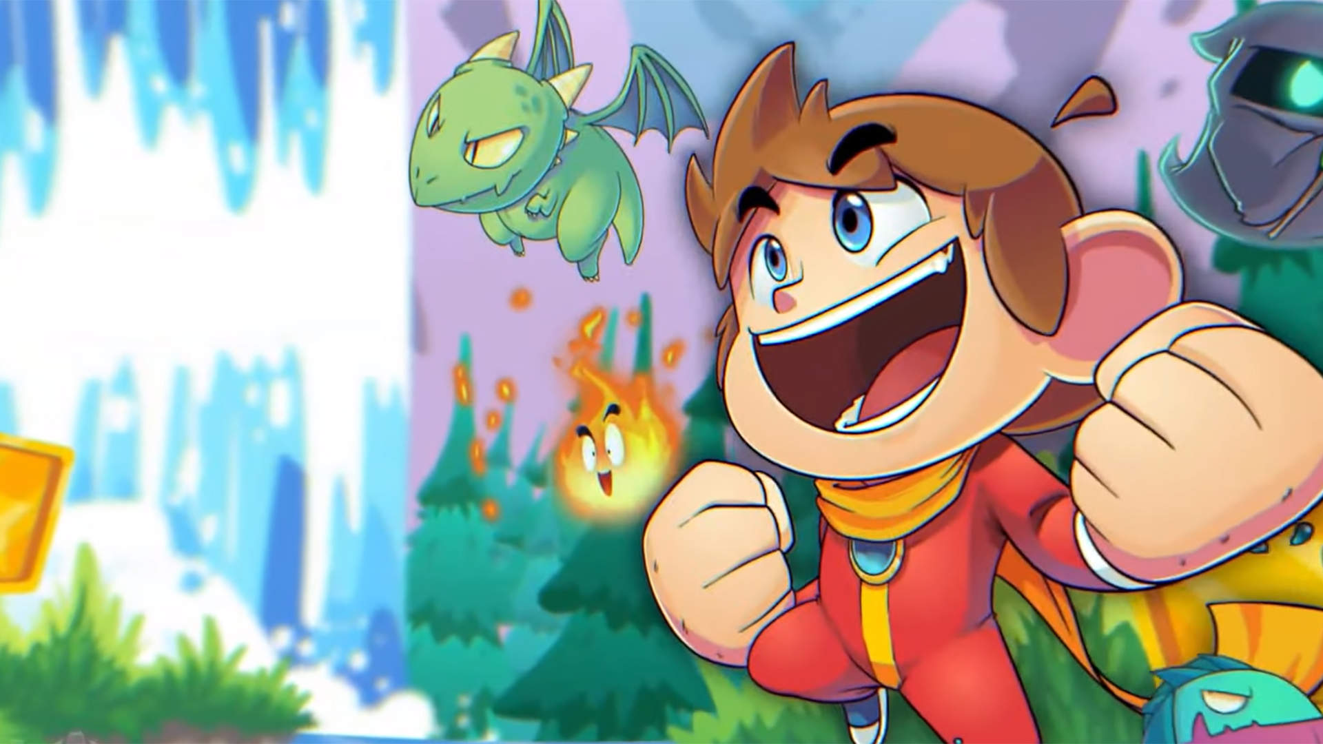 Alex Kidd in Miracle World DX Revives a Platforming Classic