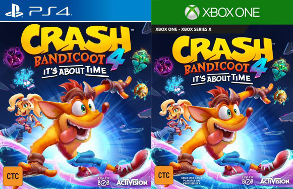 Short Crash Bandicoot 4 It S About Time Video Footage Released My Nintendo News