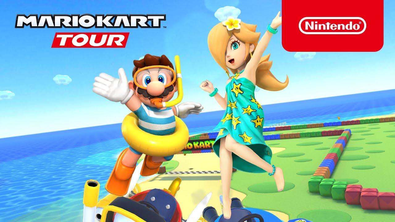 mario kart tour rosalina outfits
